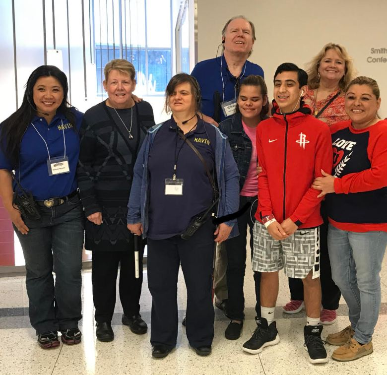 HAVIN Group Photo with (Ron's wife and son from left to right): Chelsea Nguyen, Susan Piora (Volunteer on-site nurse for the Insight Expo), Karen Eitel, Elisa Tovar, Austin Graham, Vikki Tovar. Back Row left to right: Ron Graham and Mendy Graham.