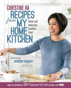 Christine Ha Recipes from My Home Kitchen cover (Rodale)